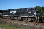 NS 7652 on coal train NS 506.
